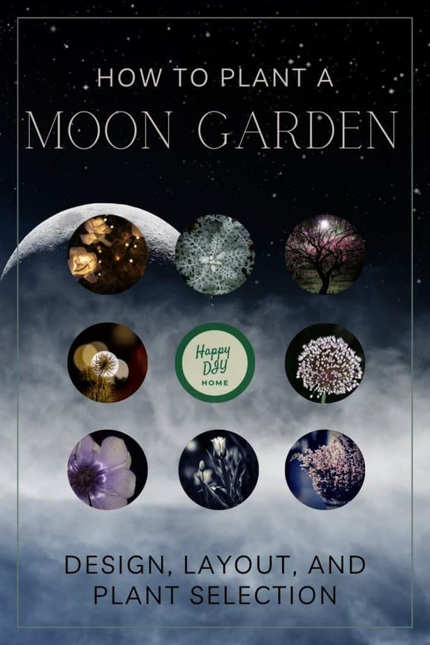 CLOUDY MOON PLANET STYLE MOON GARDEN COVER OPTION 1