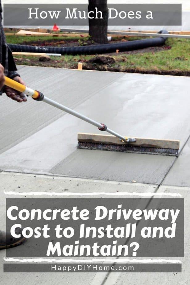 Concrete Driveway Cost 1