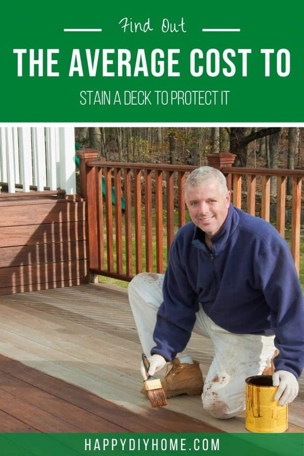 Cost to Stain a Deck 1