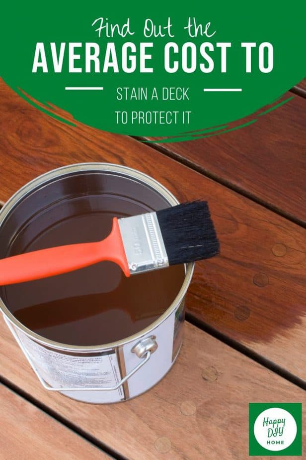 Cost to Stain a Deck 2