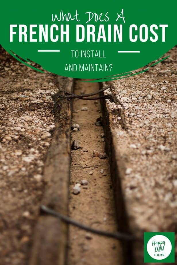 French Drain Cost 2