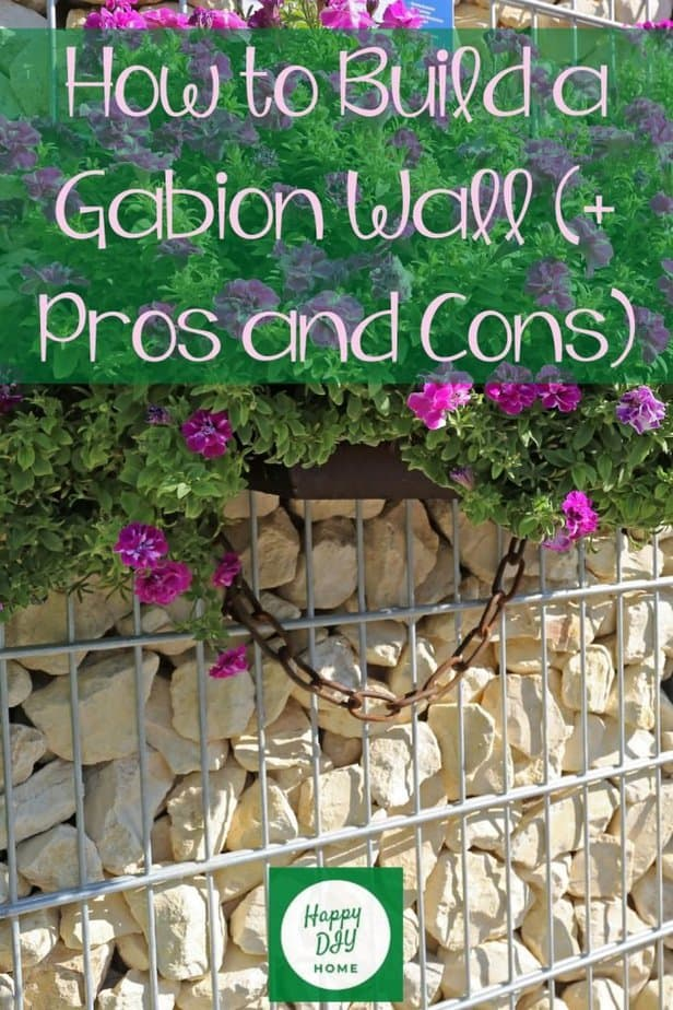 Gabion Wall cover option 1