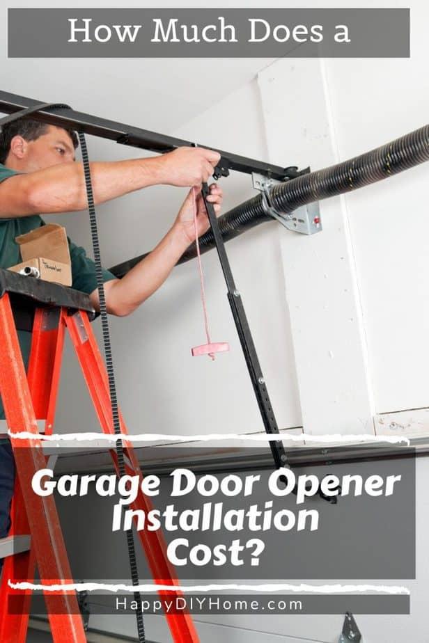 Garage Door Opener Installation Cost 1