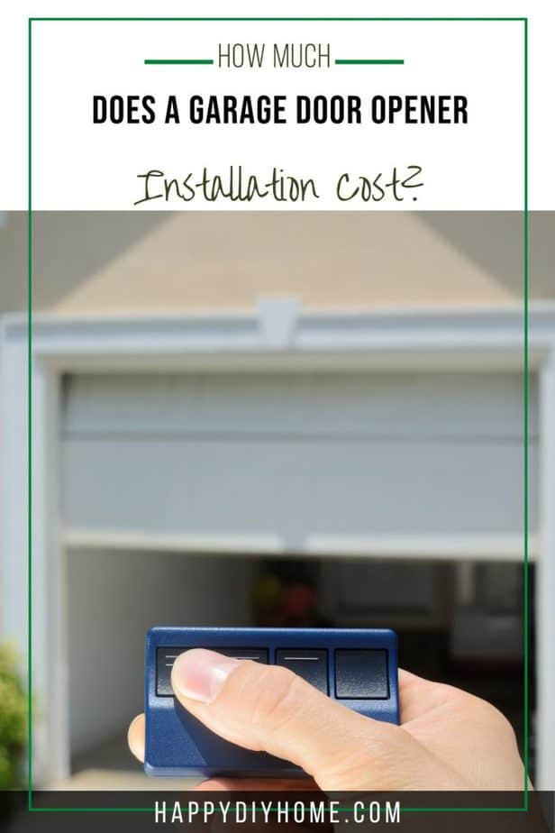Garage Door Opener Installation Cost 2