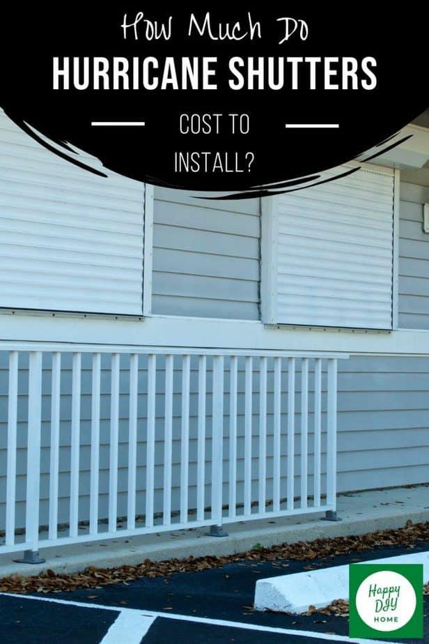Hurricane Shutter Cost 2
