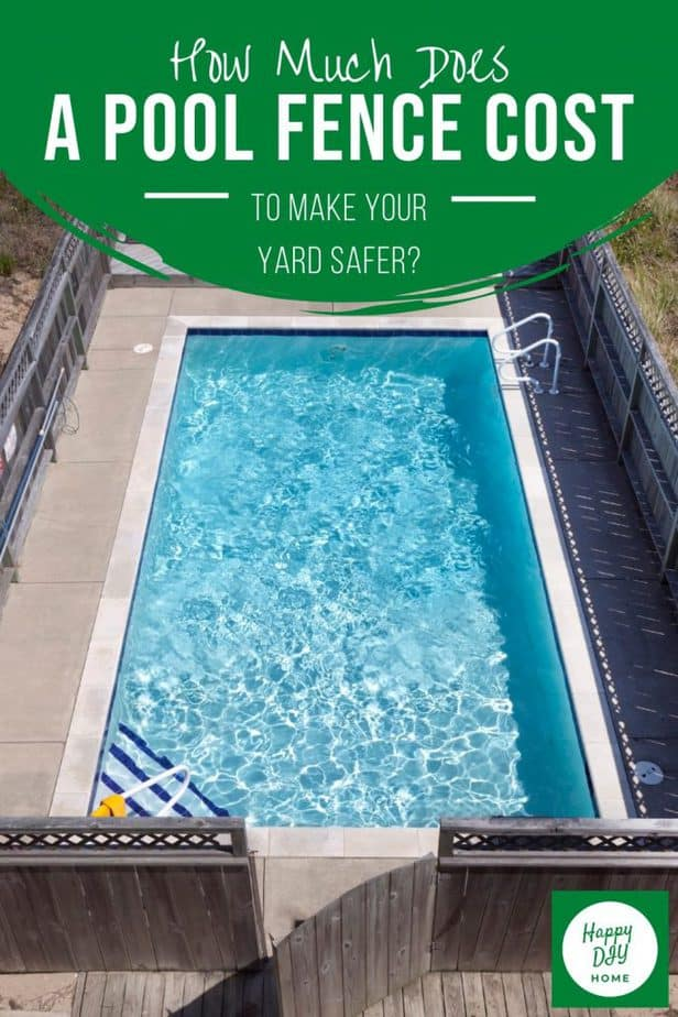 Pool Fence Cost 2
