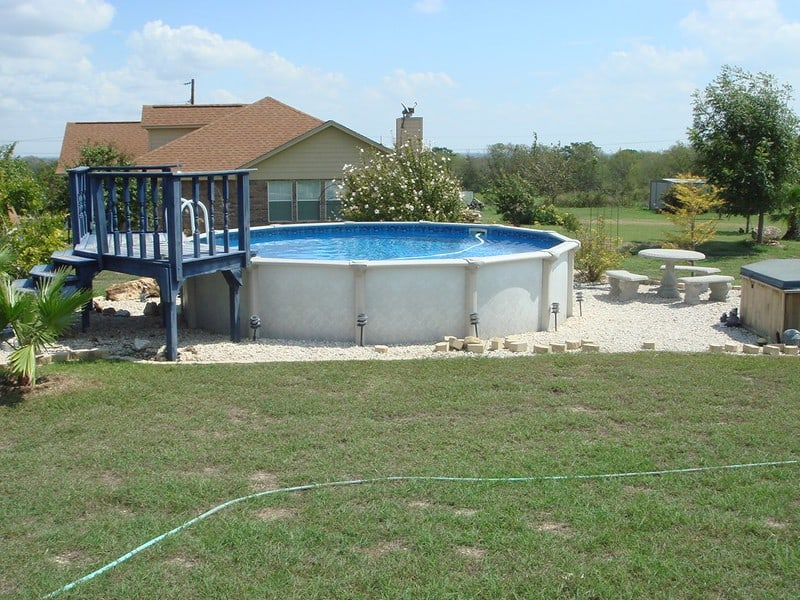 1 Above Ground Pool