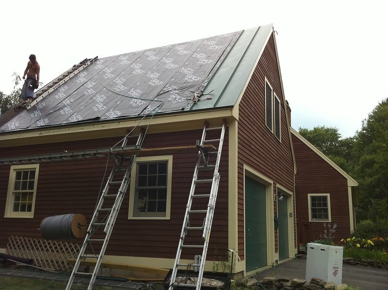 1 Installing a New Metal Roof