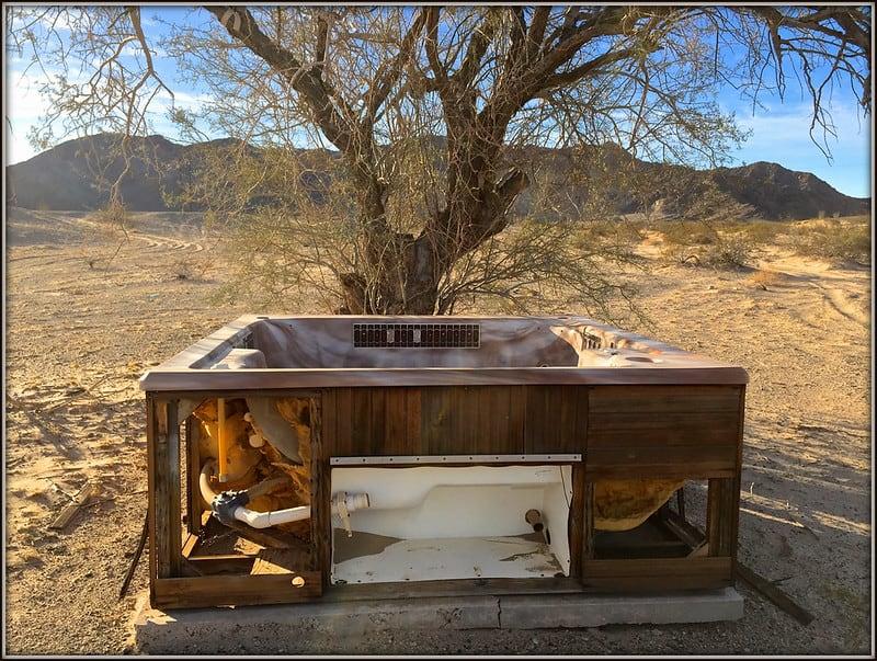 1 New Hot Tub