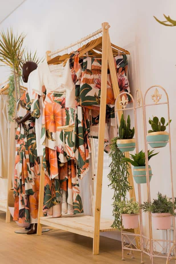 5. clothing rack
