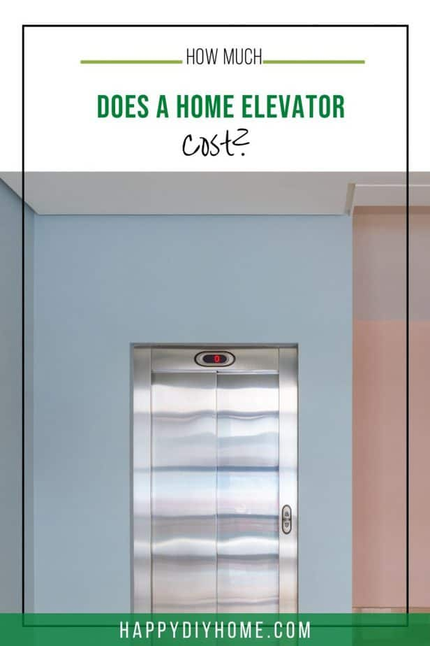 Home Elevator Cost 1
