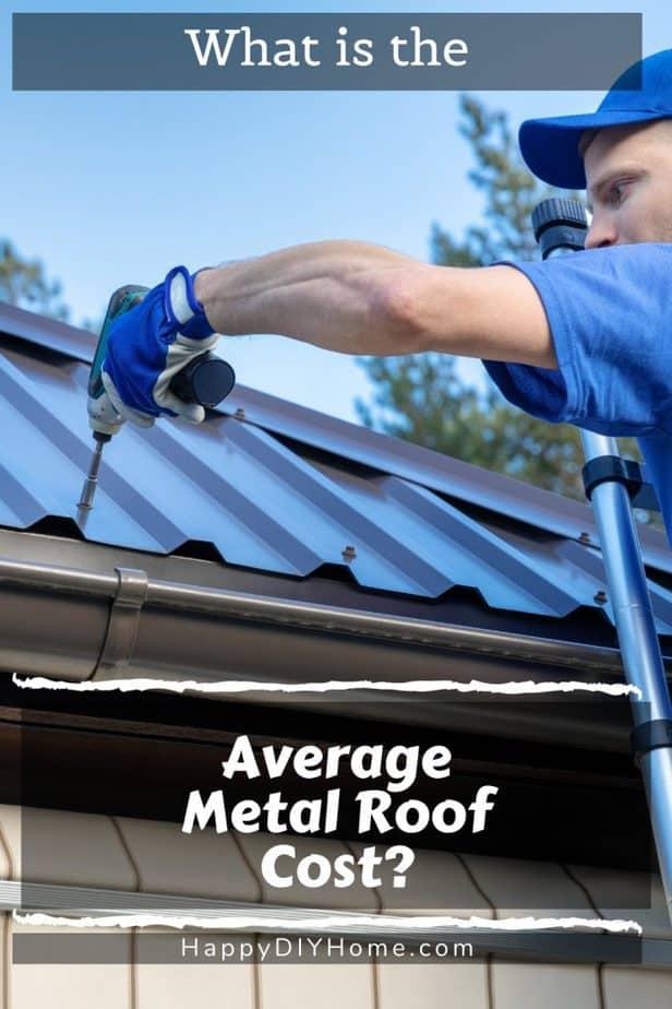 Metal Roof Cost 1