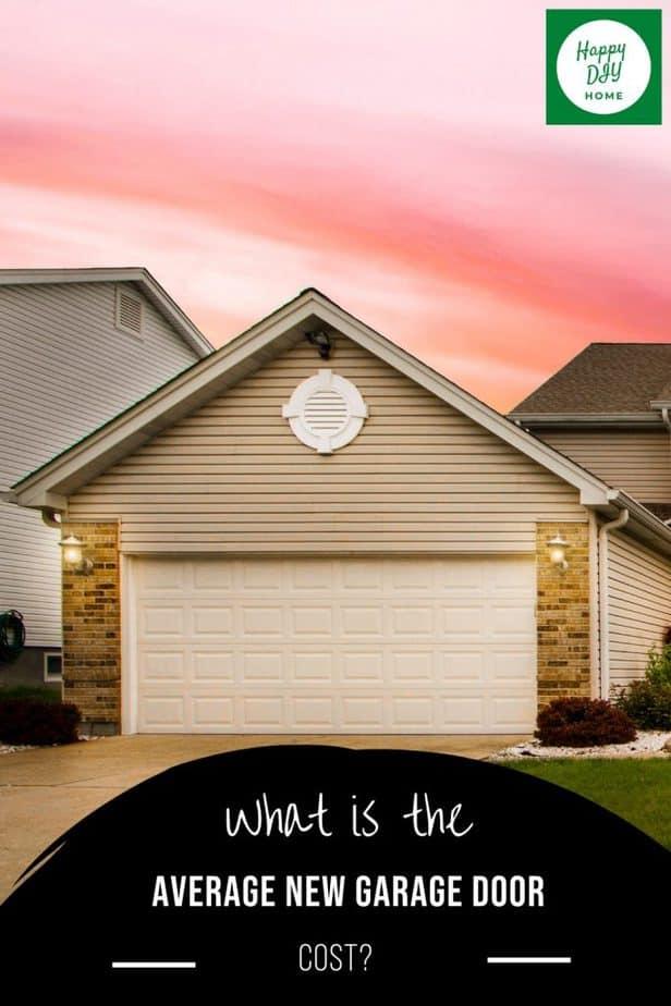 New Garage Door Cost 2
