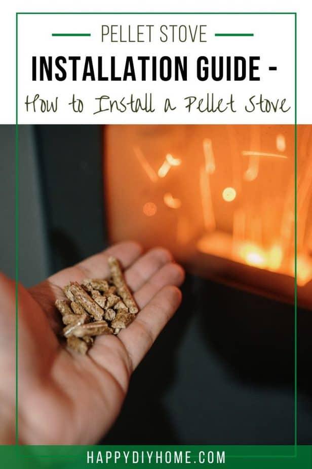 Pellet Stove Installation 1