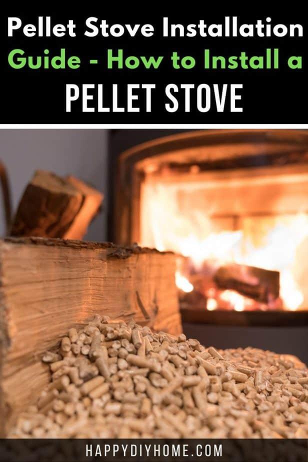 Pellet Stove Installation 2