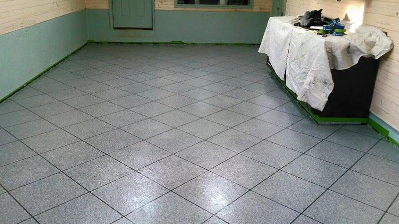 1 New Tile Flooring