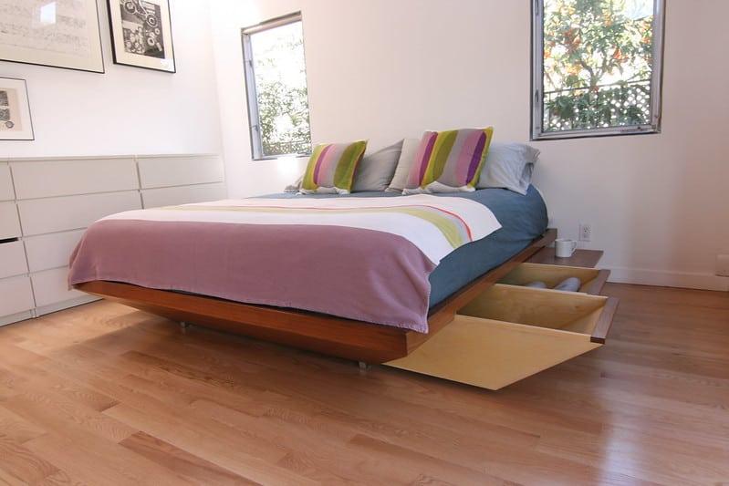 1 Reclaimed Wood Platform Frame