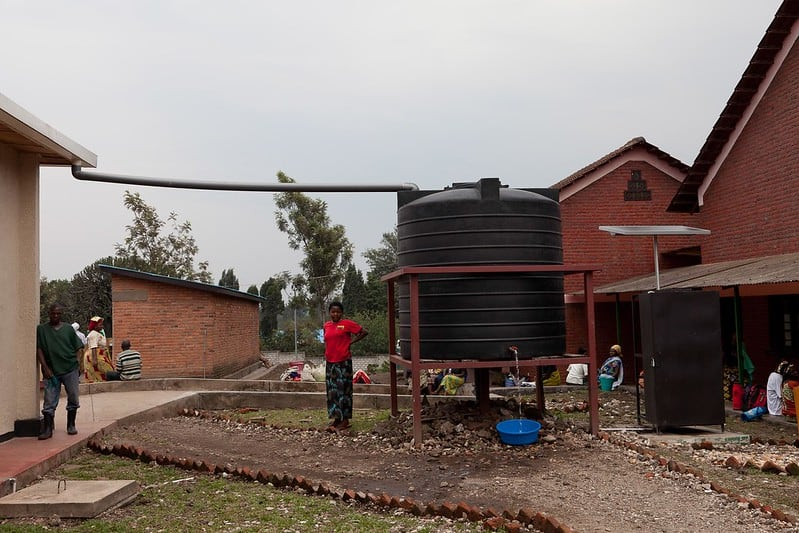 2 Large Rainwater Collection System