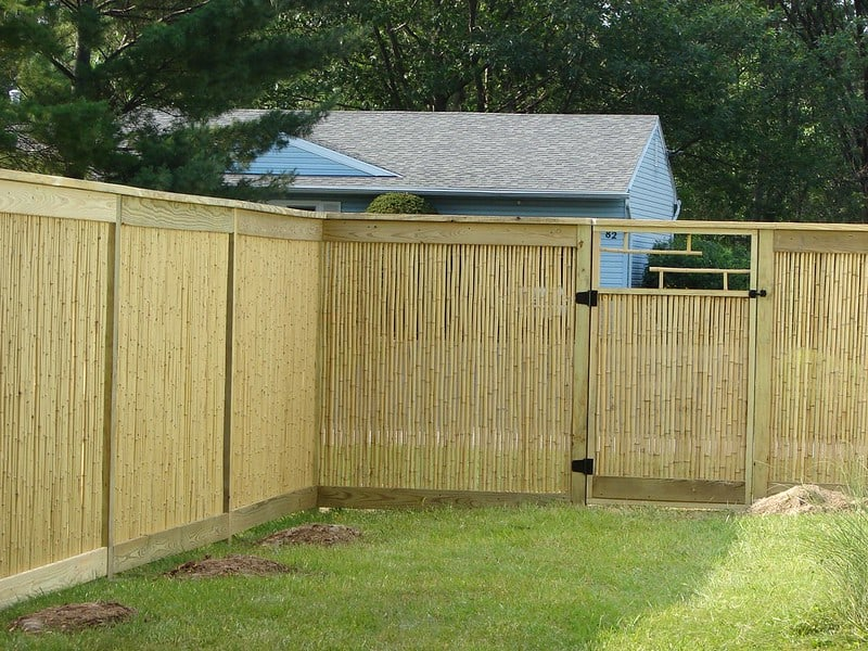 23 Gated Privacy Fence