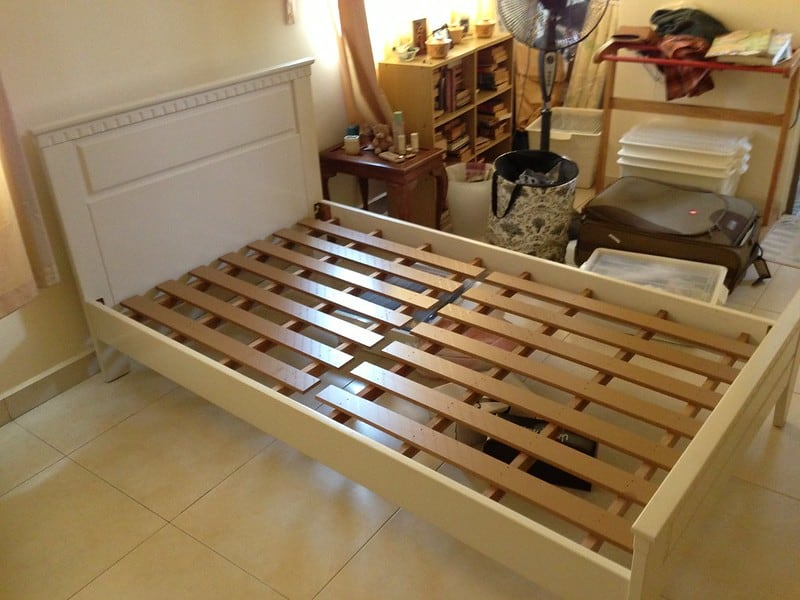 5 Frame with a Headboard Attached
