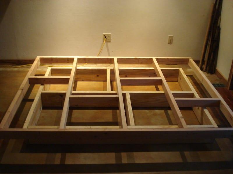 7 Floating Bed Frame