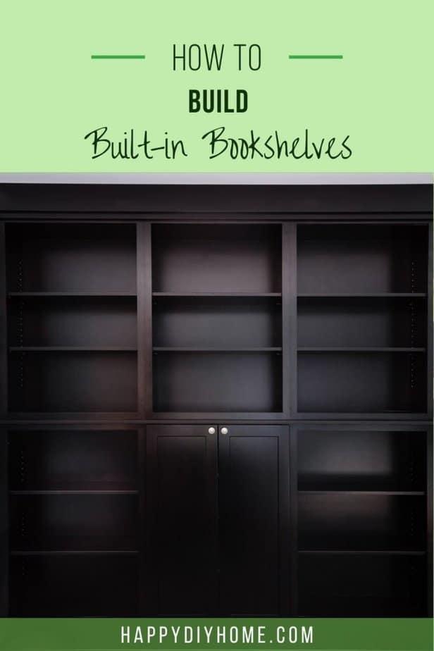 Built in Bookshelves 1