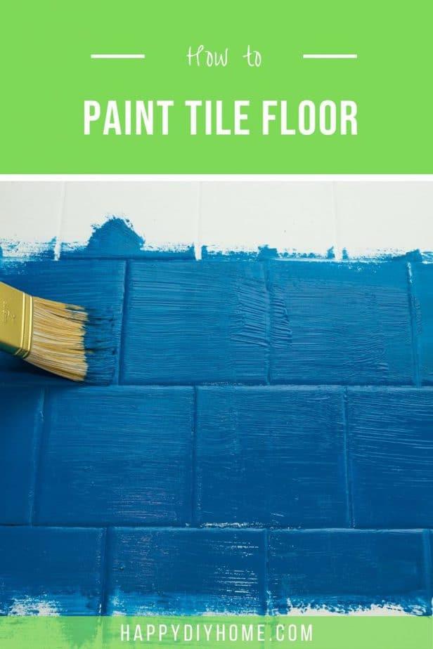 Paint Tile Floor 1