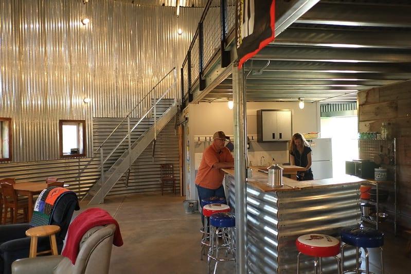 1 Corrugated Metal Bar