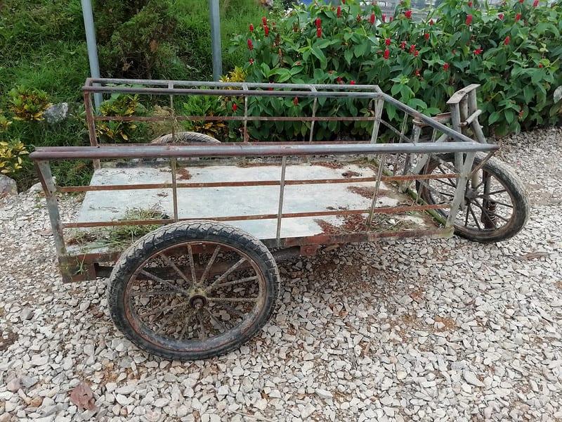 1 Older Gardening Cart