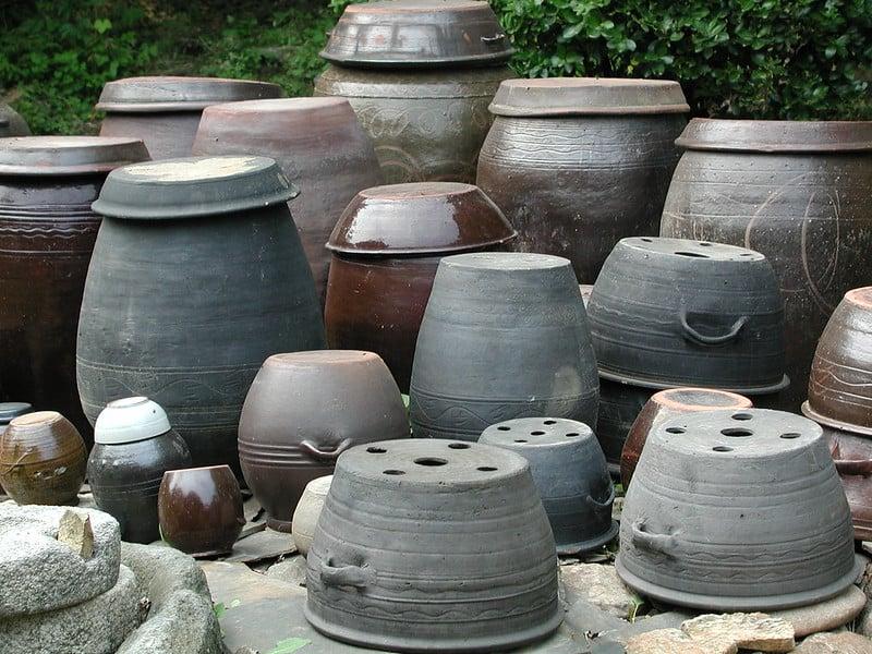 12 Ceramic Containers