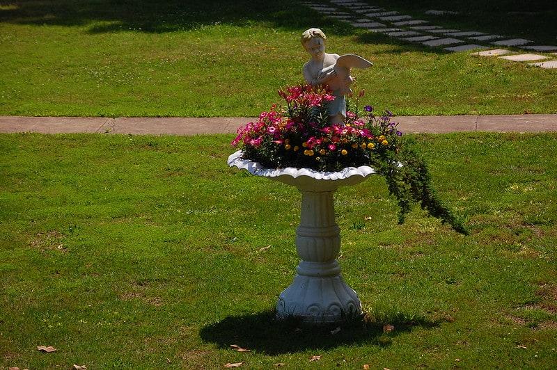 13 Birdbath Planter