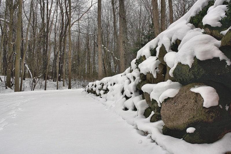13 Boulder Retaining Wall