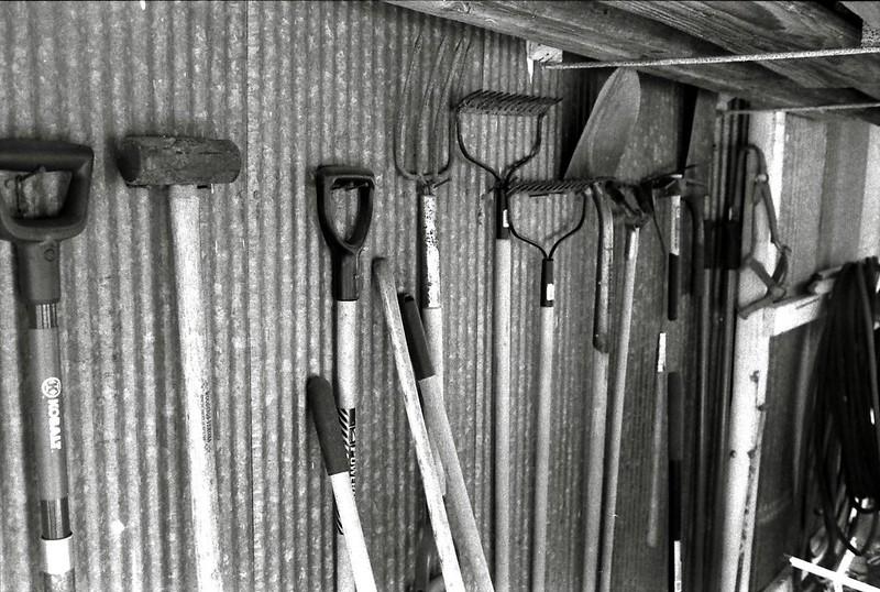 13 PVC Garden Tool Organizer