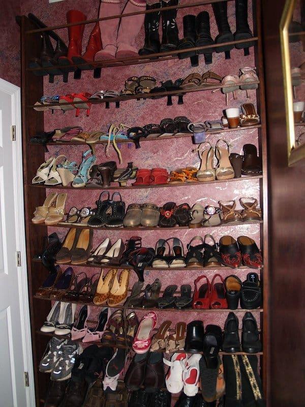 17 Storage Behind the Door