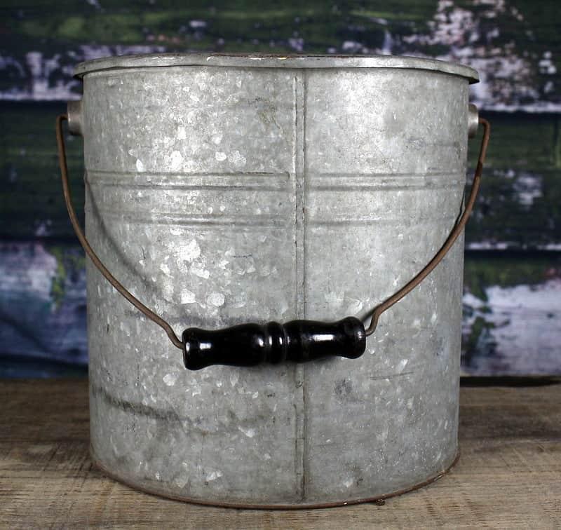 18 Galvanized Steel Bucket