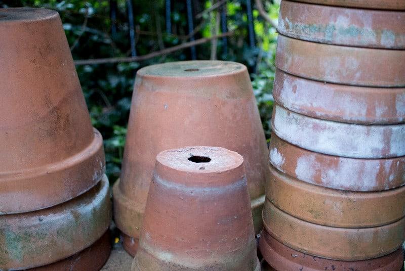 19 Terracotta Pot Table