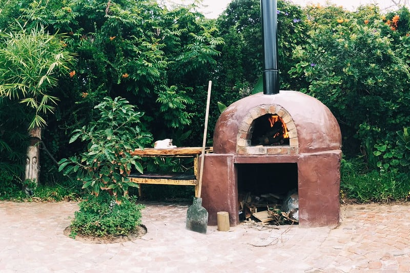 2 Clay Pizza Oven