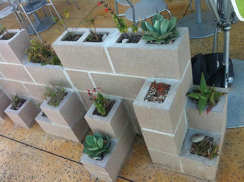 3 Concrete Planter