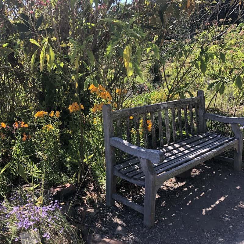 3 Garden Bench with Gravel
