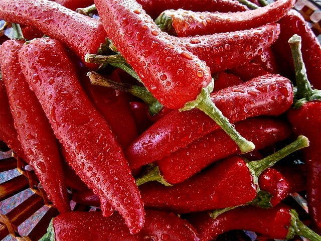 3 Red Peppers