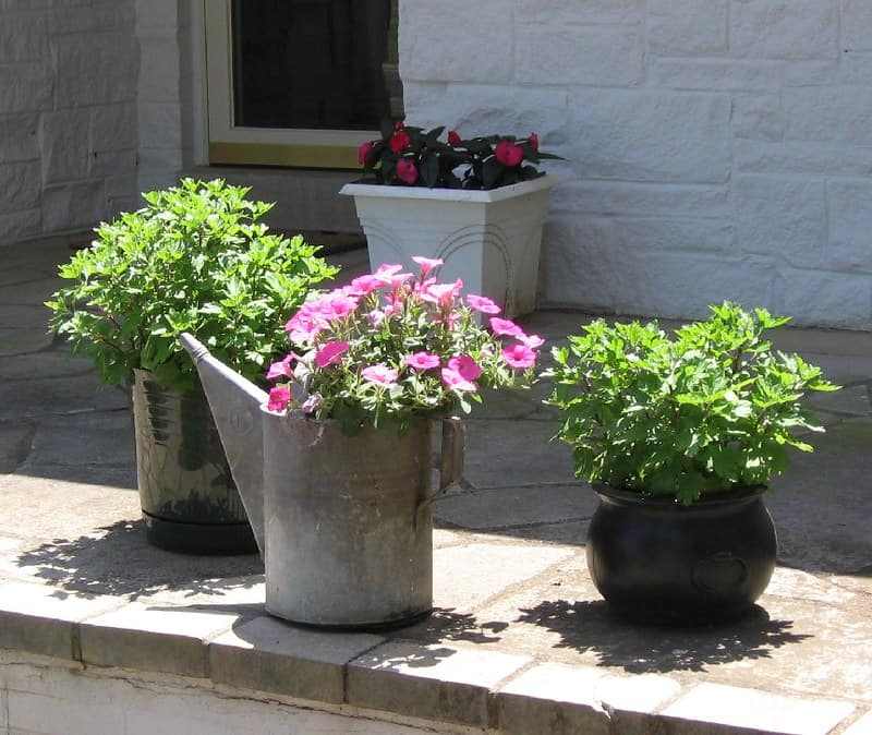 4 Upcycled Planters