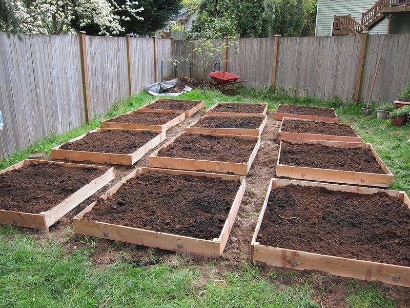6 Raised Garden Beds