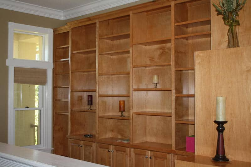 8 Built In Bookcase