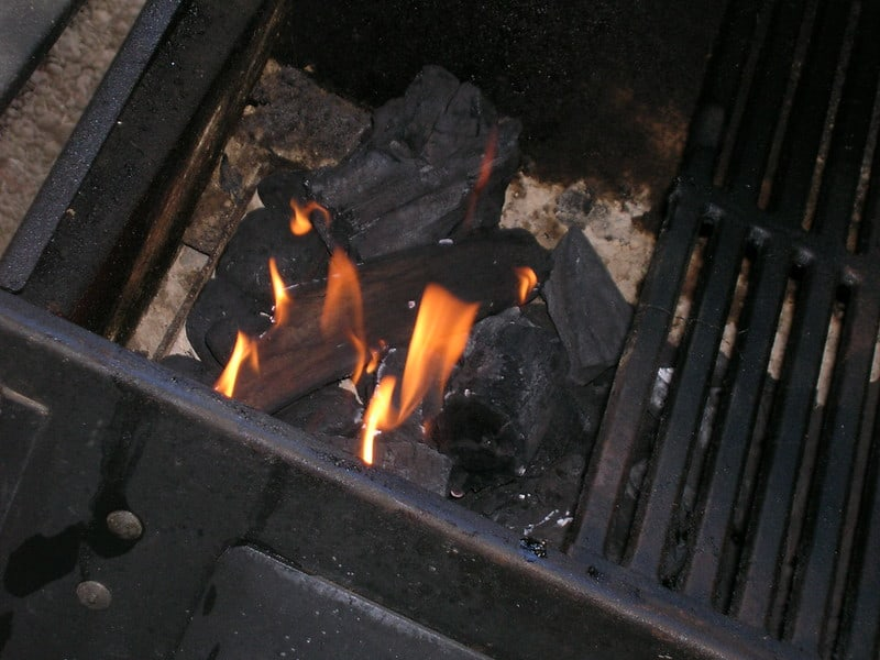 9 Wood Burning Grill