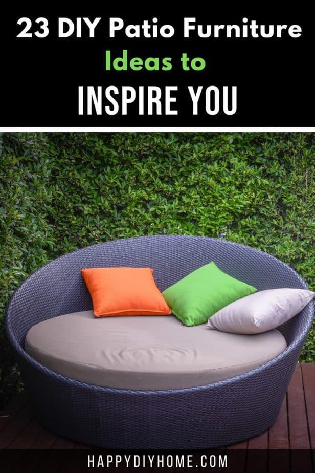 DIY Patio Furniture 2