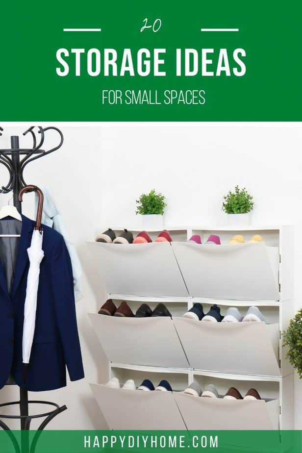 Storage Ideas for Small Spaces 1
