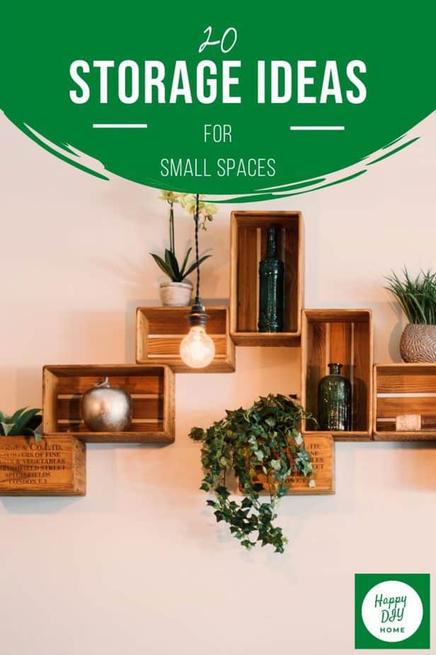 Storage Ideas for Small Spaces 2