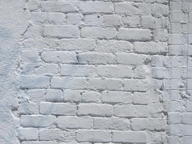 1 White Brick Wall