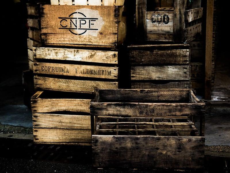 14 Wooden Crates