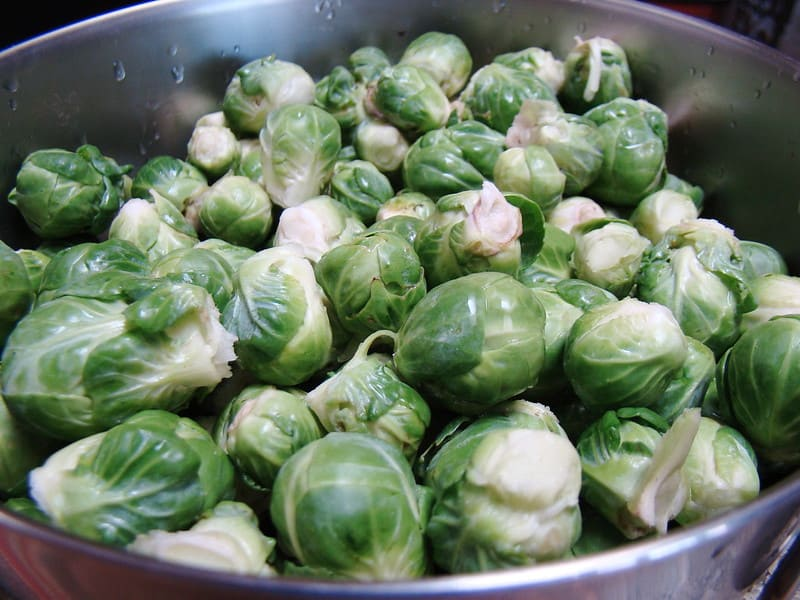 18 Brussels Sprouts